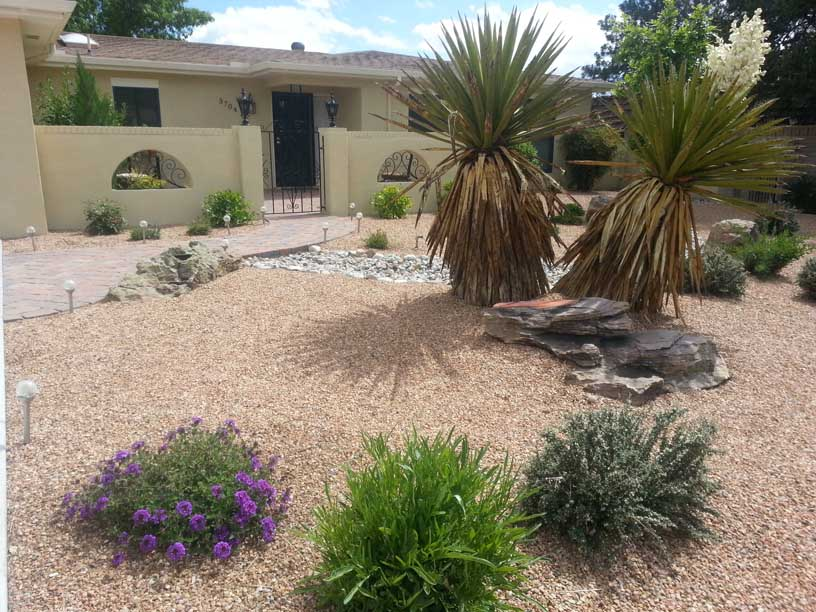 Abq landscaping landscaping services in albuquerque new for Landscaping rocks albuquerque